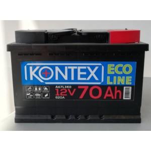 Акумулатор Eco Line KONTEX 12V 70Ah 620A