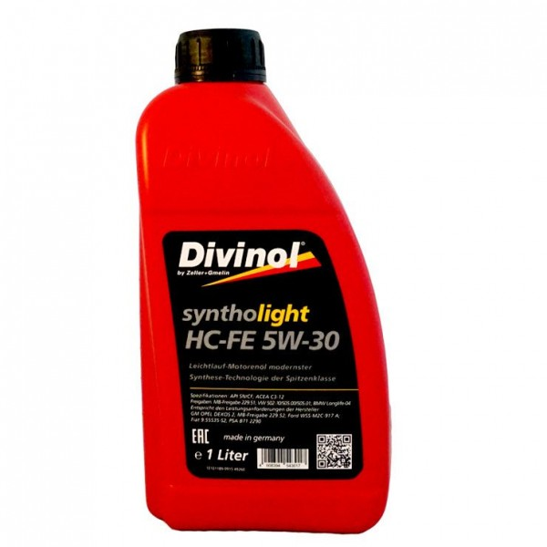 Divinol Syntholight HC-FE 5W-30 1л.