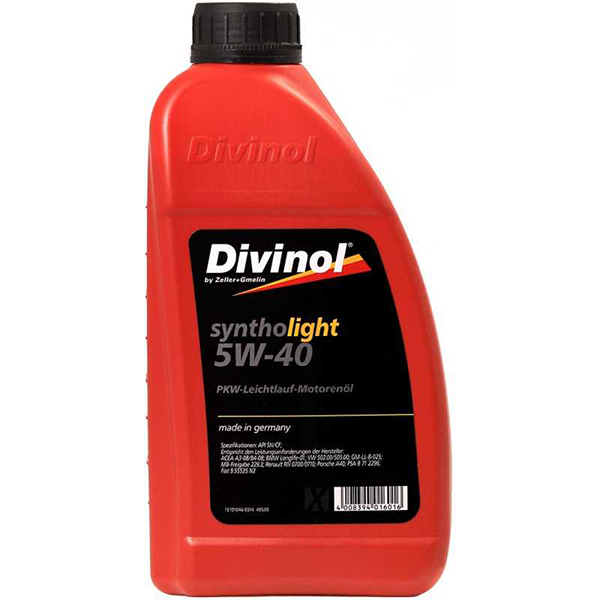 Divinol Syntholight 5W-40 1л.