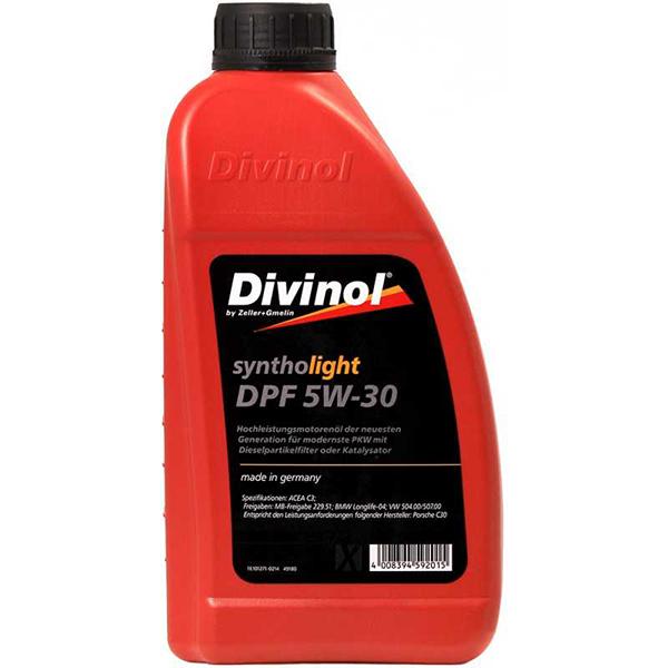 Divinol Syntholight DPF 5W-30 1л.
