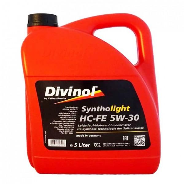 Divinol Syntholight HC-FE 5W-30 5л.