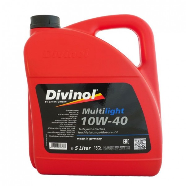 Divinol Multilight 10W-40  5л.