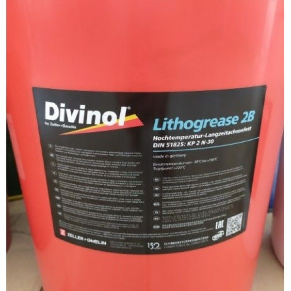 Divinol - lithogrease 2B Comple- 25 kg