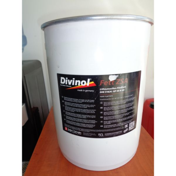 DIVINOL FETT CENTRAL LITHIUM BASED GREASE 25 kg