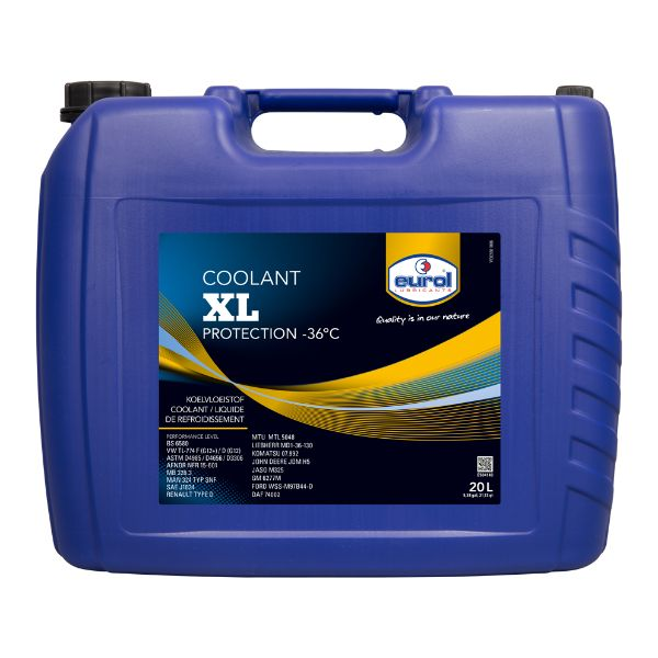 Eurol Coolant XL Yellow-36C 20л.