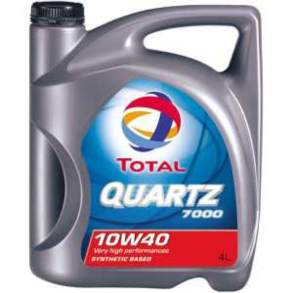 TOTAL QUARTZ 7000 10W40 4L.