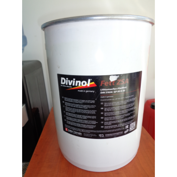DIVINOL FETT CENTRAL LITHIUM BASED GREASE 15 kg