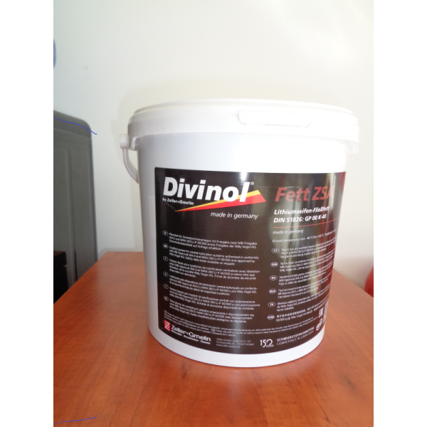 DIVINOL FETT CENTRAL LITHIUM BASED GREASE 5 kg