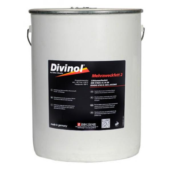 Divinol Mehrzweckfett 2 lithium grease 15 kg