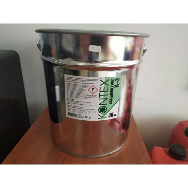 Грес KONTEX K-3 16кг метална