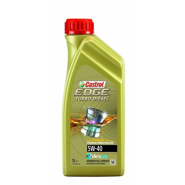 Castrol EDGE turbo diesel 5W40 1l.