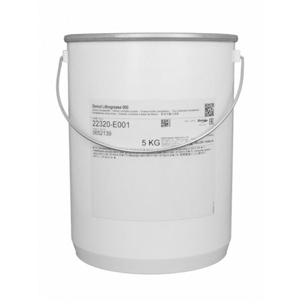 DIVINOL Lithogrease 000 Lith comp 5kg